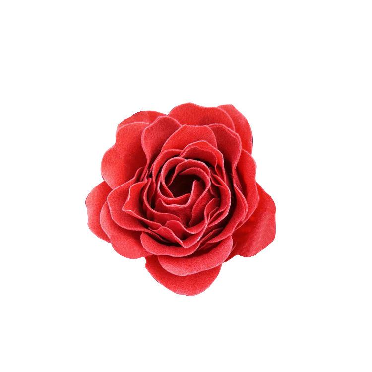 Wholesale customized soap flower paper soap slice processing multi-color soap flower gift decoration