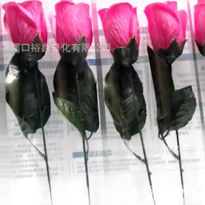 The manufacturer supplies Pantone color card No. customized color soap flower rose bouquet moisturiz