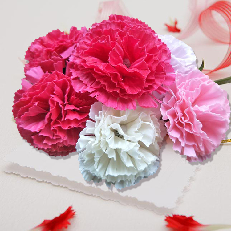 Manufacturer wholesale mother's Day Teacher's Day gift soap flower cleaning moisturizing soap carnat