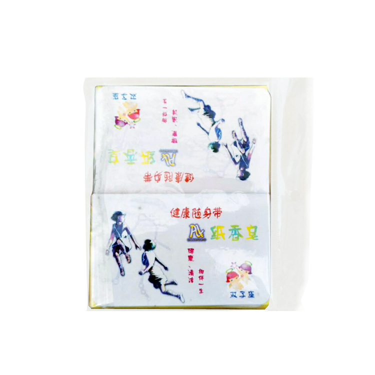 Manufacturers processing refreshing soap dissolving fast box paper soap fruit flavor soap paper